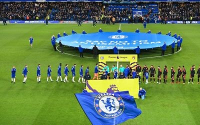 Chelsea launched its campaign to tackle anti-Semitism ahead their match against Bournemouth in January 2018