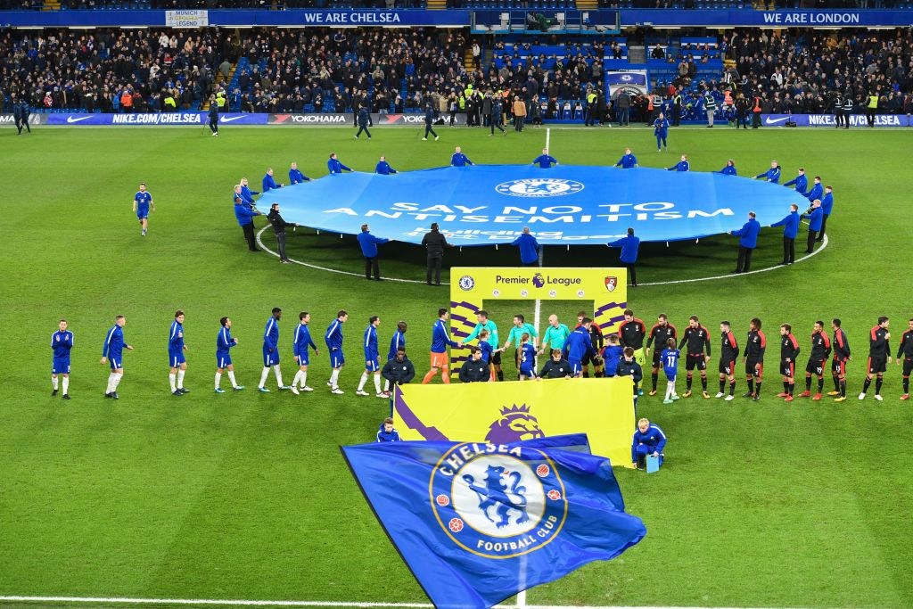 Chelsea condemn anti-Semitic chanting during Europa League match
