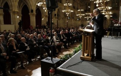 International anti-Semitism conference in Vienna