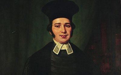 Portrait of Rabbi Nathan Marcus Adler