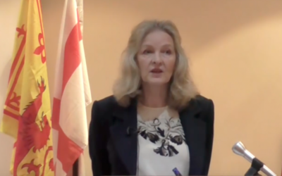 Michèle Renouf  Source: Screenshot from Youtube