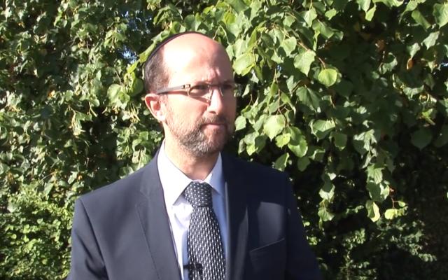 Steven Isaacs  Source: Screenshot from video on HJPS website