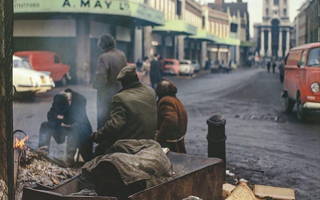 Poverty in Spitalfields Market, 1973
