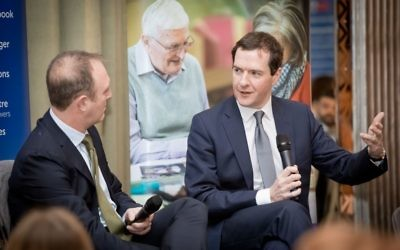 Former Chancellor George Osborne in conversation with the BBC's James Harding   Grainge Photography