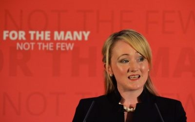 Shadow Business Secretary Rebecca Long-Bailey   Photo credit: Anna Gowthorpe/PA Wire
