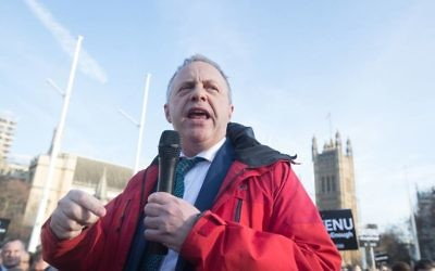 John Mann speaking at #EnoughIsEnough - Demonstration against anti-Semitism   Photo Credit: Marc Morris
