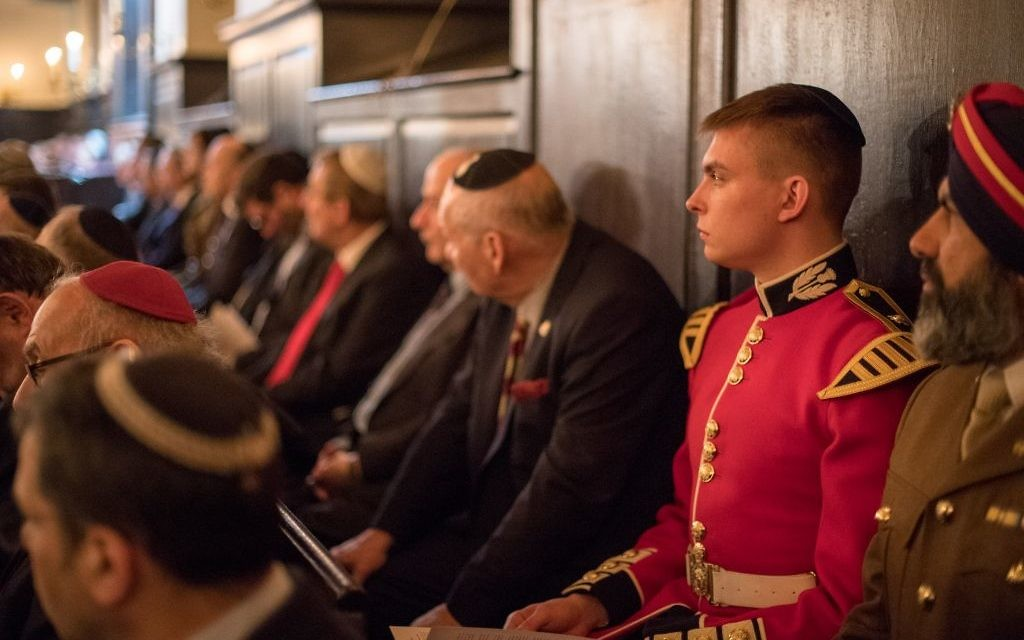 Representatives from different Regiments, Services and Religions attended.  Photo credit: Sgt Rupert Frere/MOD Crown Copyright.