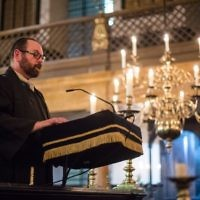 Rabbi Reuben Livingstone, who has been the Jewish Chaplain to HM Armed Forces since 2012.   Photo credit: Sgt Rupert Frere/MOD Crown Copyright.
