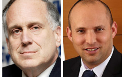 The President of the World Jewish Congress Ronald S. Lauder has been in a spat with Israeli Education Minister Naftali Bennett