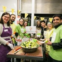Members of Alyth Synagogue and The Mosque and Islamic Centre of Brent at a previous Mitzvah Day event