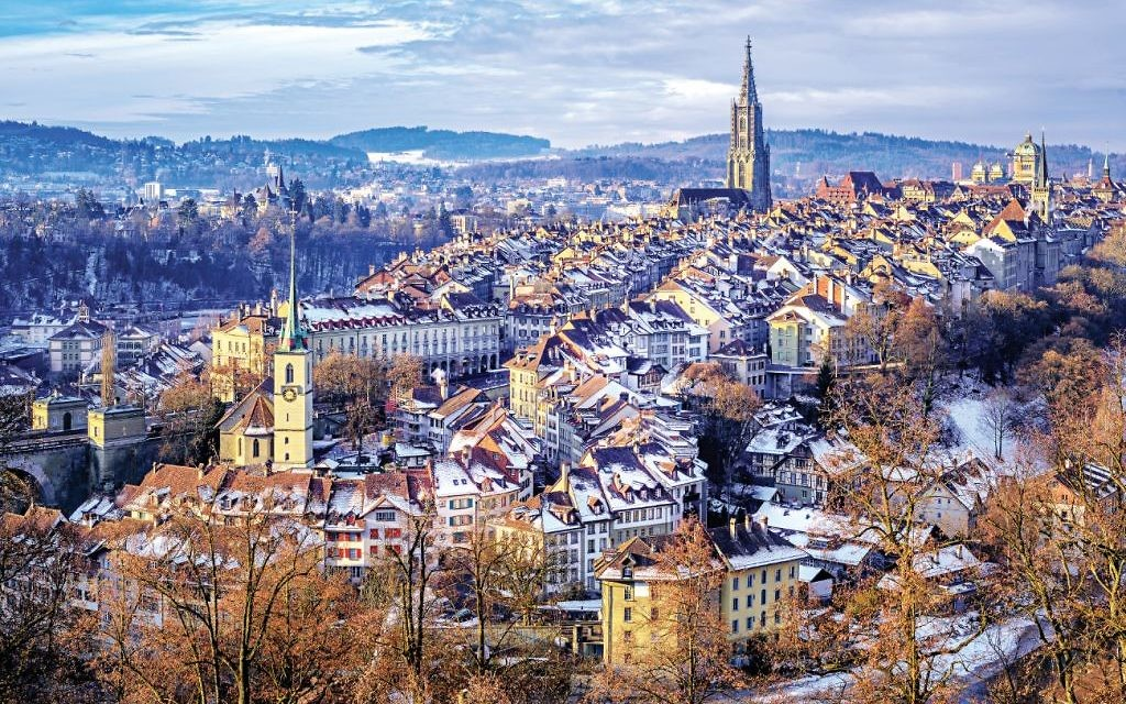 The medieval clock tower in Bern inspired Einstein's theory of relativity