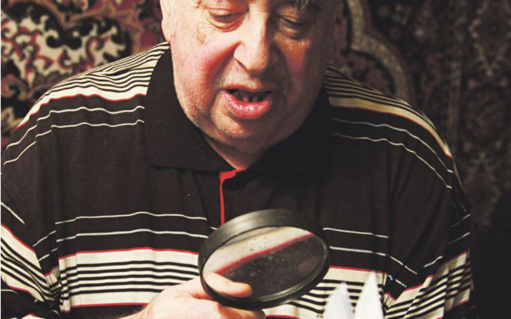 Vladimir reading one of his poems