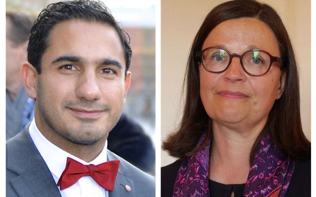 Ardalan Shekarabi and Anna Ekstrom