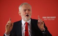 Labour leader Jeremy Corbyn. Photo credit: Yui Mok/PA Wire
