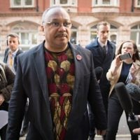 Marc Wadsworth at a Labour party disciplinary in London, where he was expelled   Photo credit: Stefan Rousseau/PA Wire