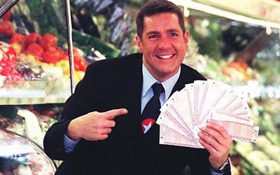 Dale Winton hosted Supermarket Sweep from 1993 to 2001
