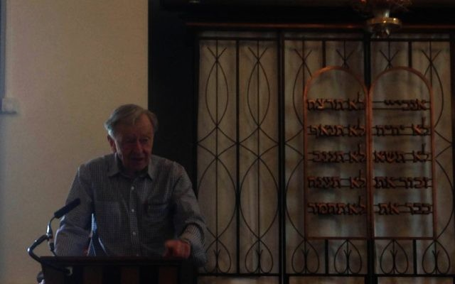 Lord Dubs speaking at KLS