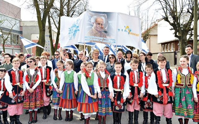 March in Plonsk.   Credit - Yossi Zeliger