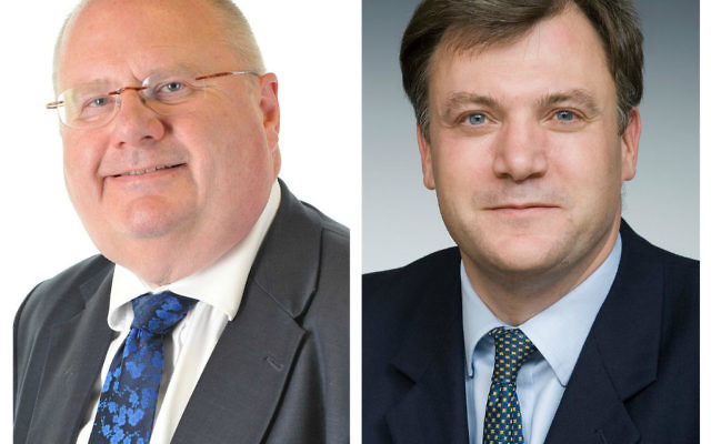 Lord Pickles and Ed Balls