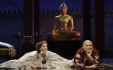 Kelli O'Hara and Ken Watanabe star in The King And I