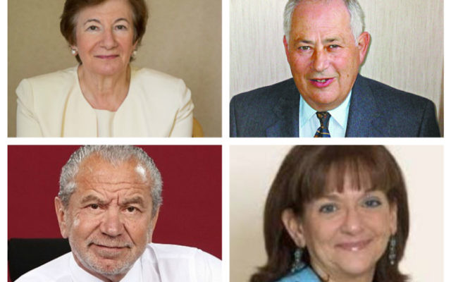 Baroness Deech, Lord Monroe Palmer, Lord Sugar and Baroness Altmann were all signatories to the letter
