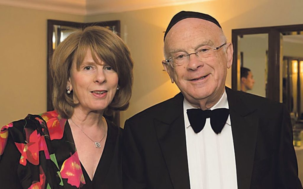 Eric with his wife Gillian