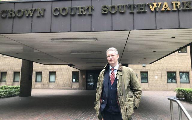 Army veteran Jeremy Bedford-Turner at Southwark Crown Court   Photo credit: Sam Blewett/PA Wire