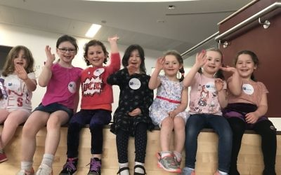 Children enjoy activities at the Jewish Arts Family Book Day
