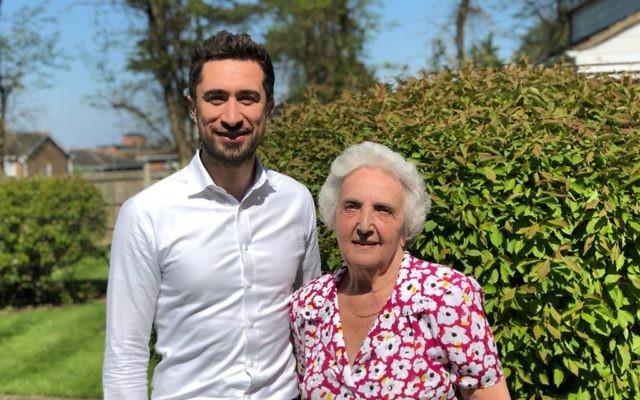 Liane Segal with Damien Egan
