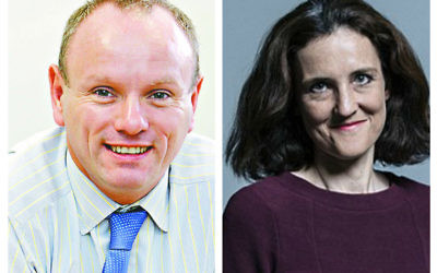 Mike Freer and Theresa Villiers.