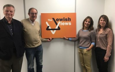 This week's guests on the Jewish Views podcast!