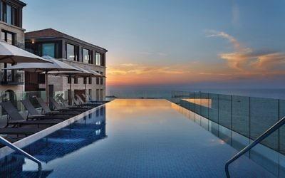 Setai Tel Aviv pool
