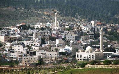 West Bank village of Husan