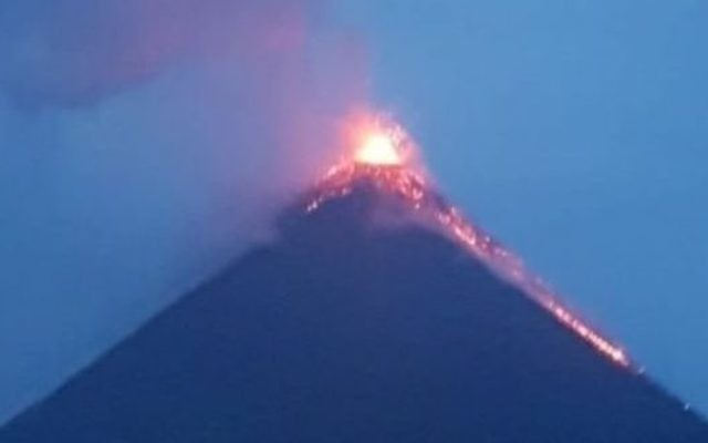 The Volcan de Fuego, in Guatemala  Photo credit: Richard Fitz-Hugh/PA Wire