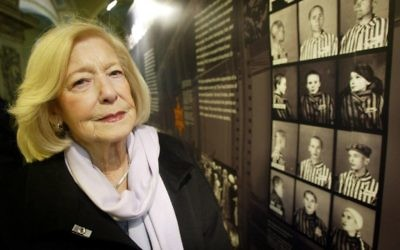 Gena Turgel died aged 95.  Photo credit: Paul Faith/PA Wire