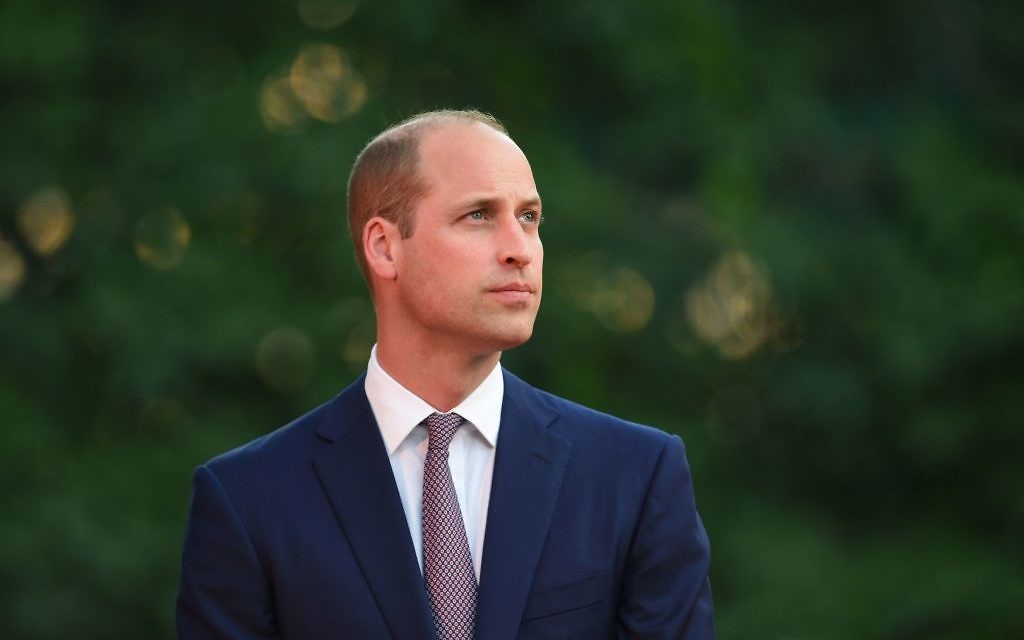 The Duke of Cambridge in Amman, Jordan at the start of his Middle East tour.   Photo credit: Joe Giddens/PA Wire