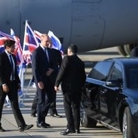 The Duke of Cambridge arrives at Israel Ben Gurion Airport in Tel Aviv, Israel. P   Photo credit: Joe Giddens/PA Wire