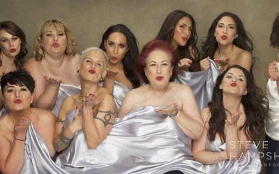In this photo: Katie Mumford, Carina Drake, Caroline Presho, Fiona Bailey, Esther K, Alison Dagul, Ami Kaye, Elyse Taylor, Gaby Dagul and Jamie Karr