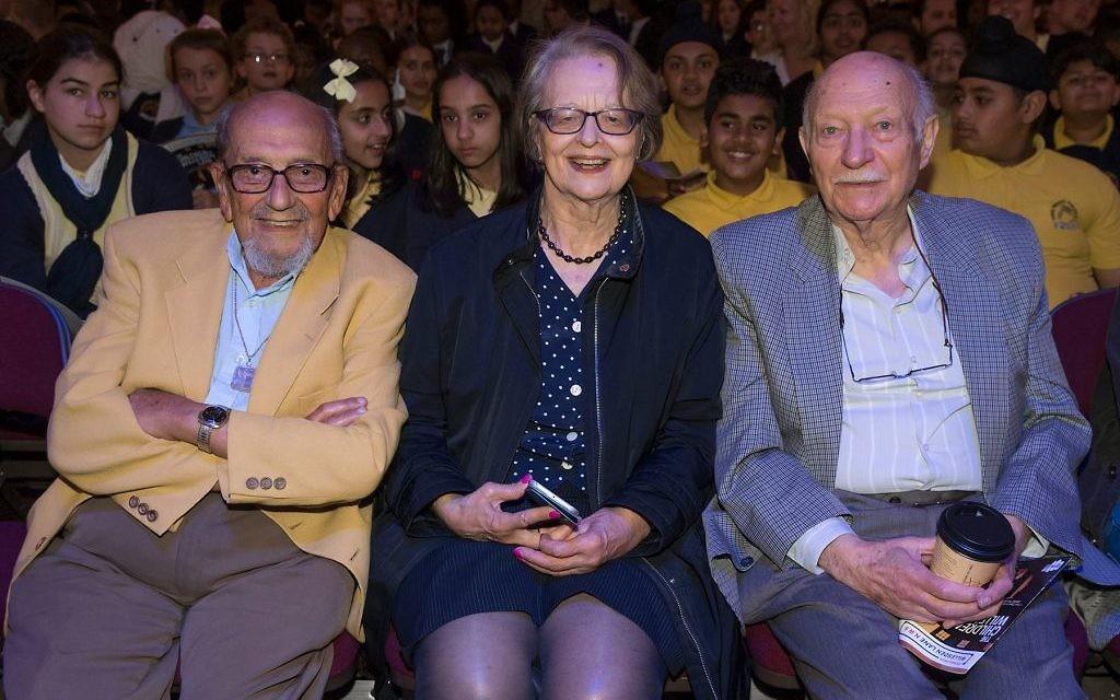 Harry Bibring BEM, Eve Willman and Kurt Marx