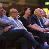 Harry Bibring BEM, Karen Pollock MBE, Kurt Marx, Hennie Franks and Vera Schaufeld