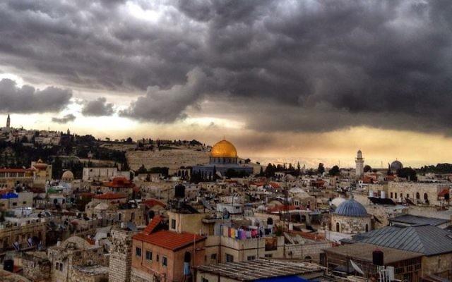 Jerusalem's iconic skyline