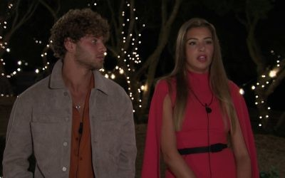 Eyal and Zara were forced to leave the villa last night