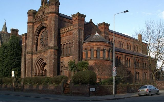 The Synagogue of the Liverpool Old Hebrew Congregation In Princes Road