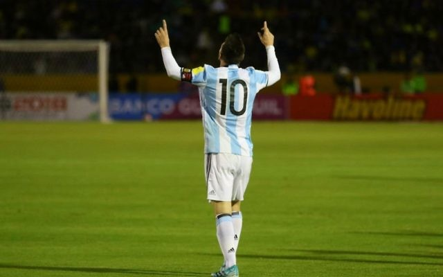 60a55626c Threats  to Lionel Messi caused Argentina to cancel Israel game ...
