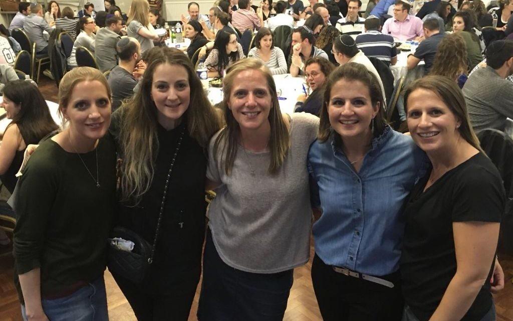 L-R: Ruth Lewis, Ali Keen, Judith Frazer, Sara Kibel and Rebecca Fox