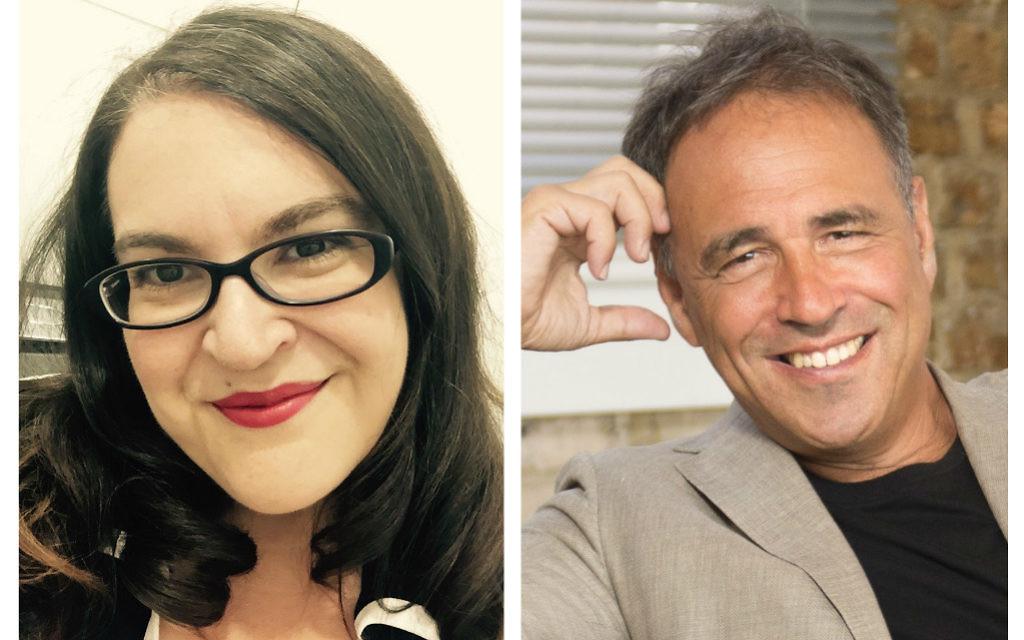 Naomi Alderman and Anthony Horowitz