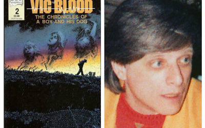 Harlan Ellison and his most famous work A Boy and His Dog