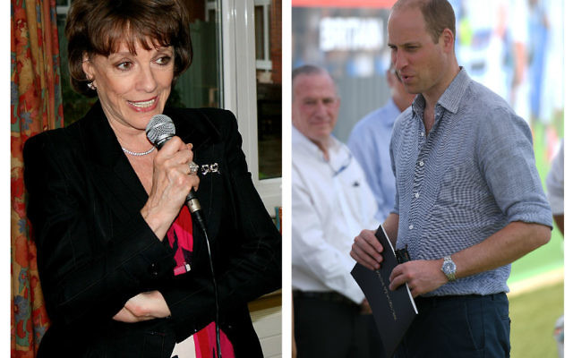Prince William in Israel and Dame Esther Rantzen