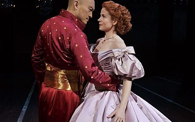 Kelli O'Hara and Ken Watanabe star in The King And I at the London Palaldium. Photo: Paul Kolnik