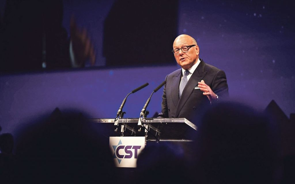 Charity at heart: Sir Lloyd Dorfman also serves as    deputy chairman of the Community Security Trust